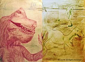 dinodiptych