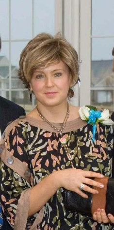 My mom at my wedding.
