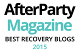 After Party magazine best recovery blogs 2015